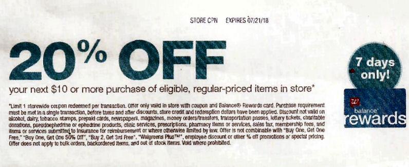 20 percent coupon