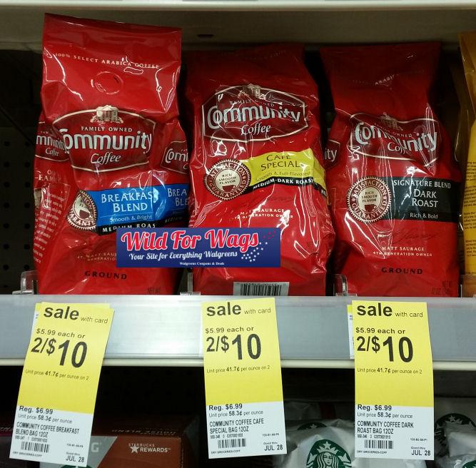 community coffee deals