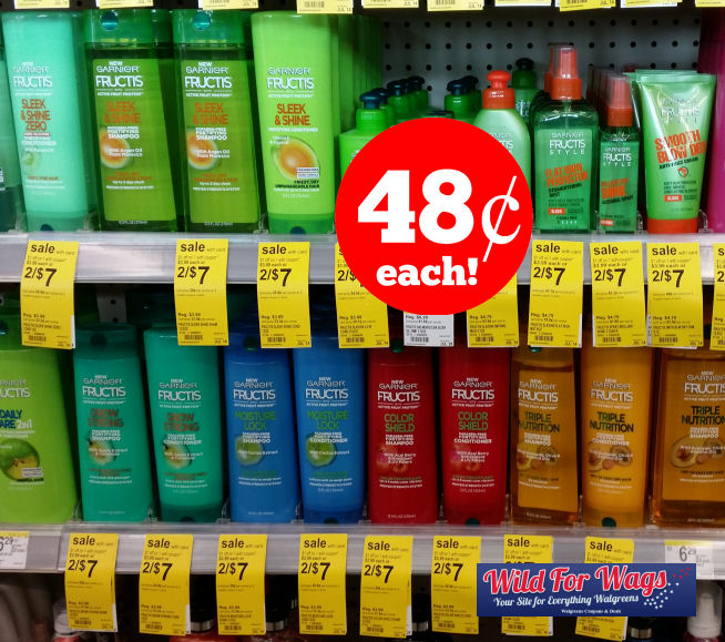 garnier-fructis hair care deals