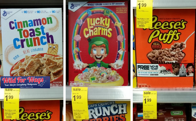 general mills cereal lucky charms deal