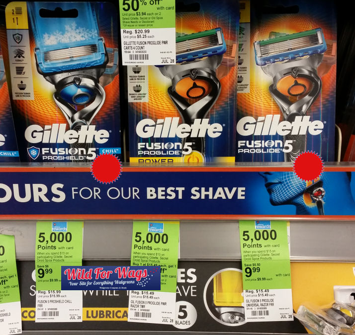 gillette razors deal