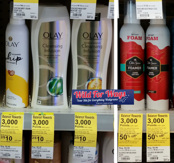 olay and old spice deals