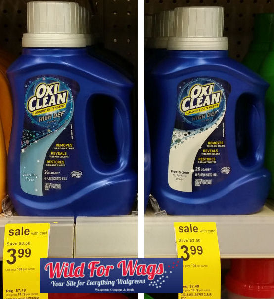 New 2 Oxiclean Coupon Just 1 96 Detergent