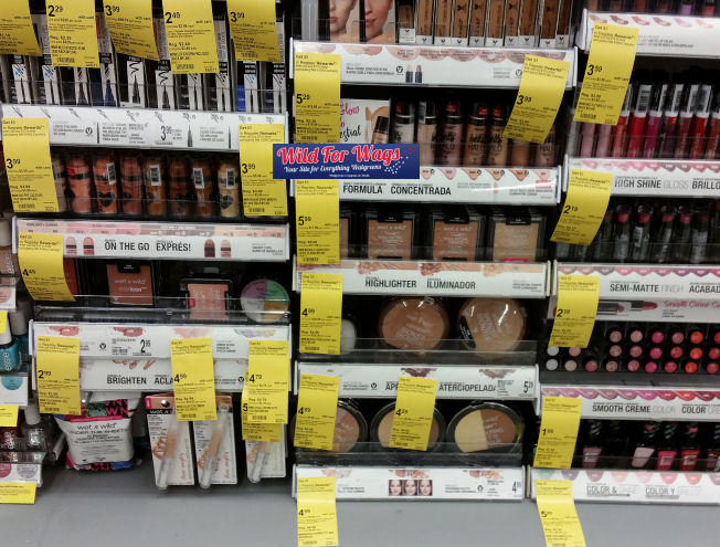 wet 'n wild cosmetics