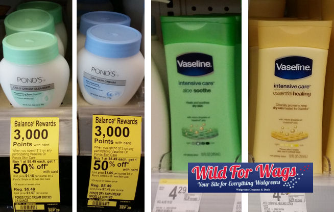 pond's and vaseline deals