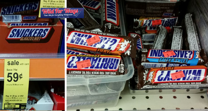 snickers flavors deal