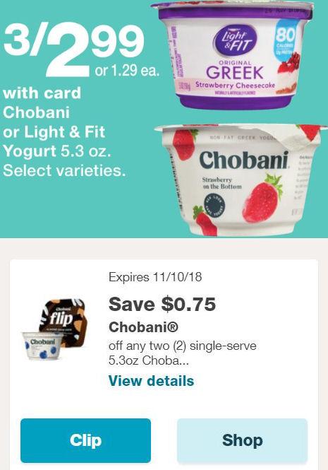 chobani deal