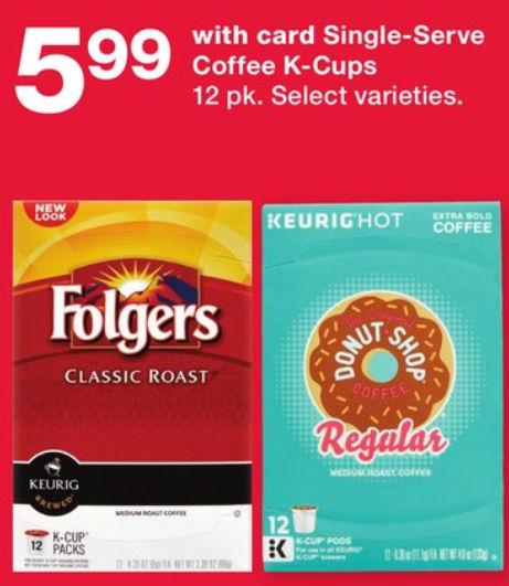 folgers k cups deal