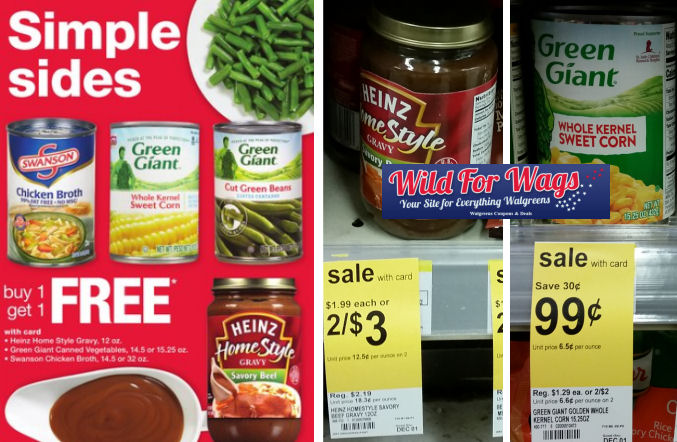 heinz and green giant deals