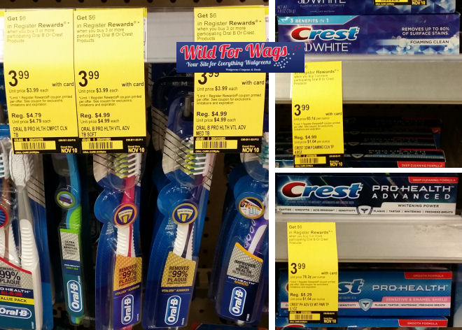 oral-b and crest deal