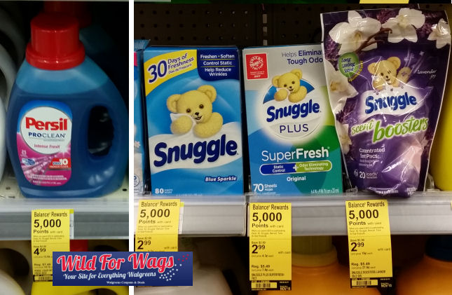 persil and snuggle deal