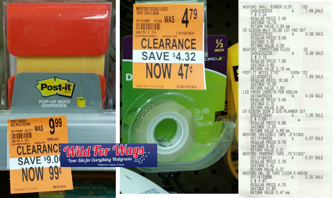 post it clearance deal