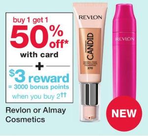 revlon and almay cosmetics
