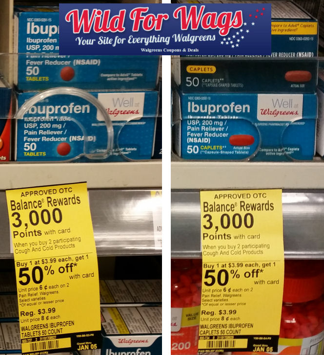 Well at Walgreens ibuprofen deals