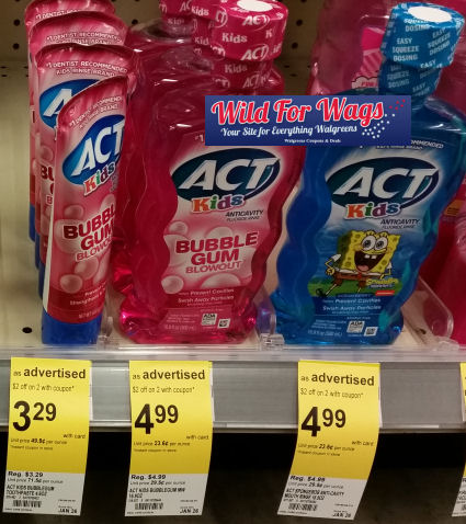 act toothpaste deal