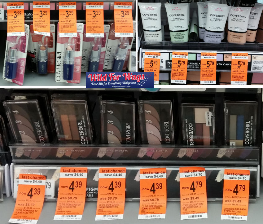 covergirl clearance deals
