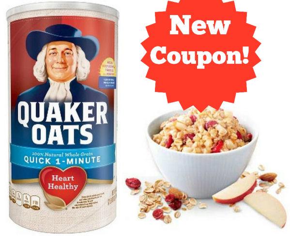 new quaker coupon