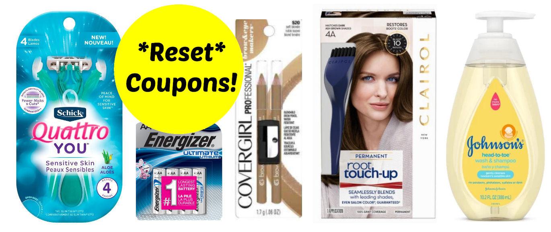 reset coupons-