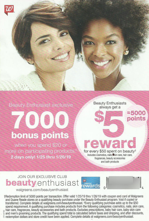 70000 beauty coupon leaflet