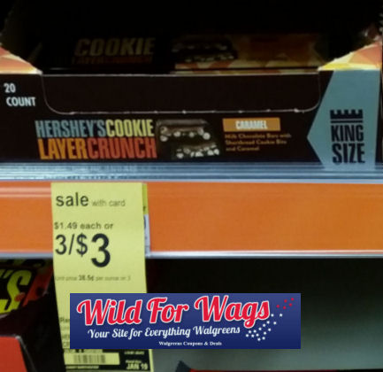 hershey's cookie layer crunch king size bars deal