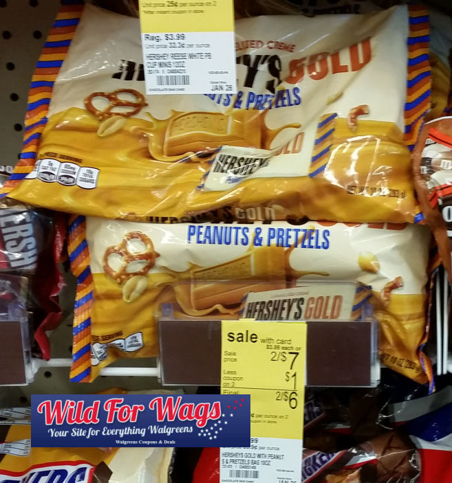 hershey's gold pretzels DEAL