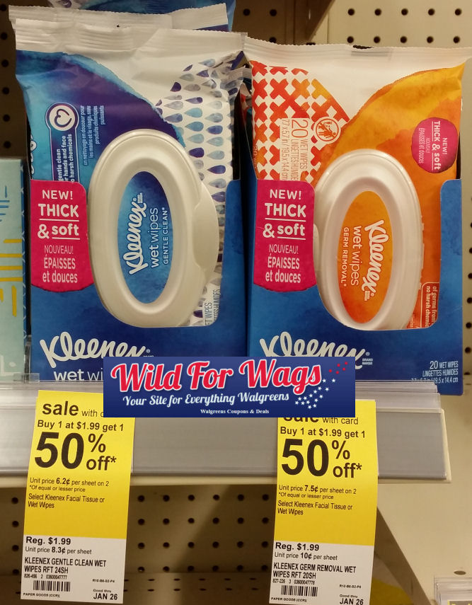 kleenex wipes deal