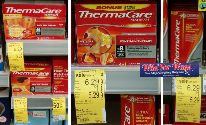 thermacare deals