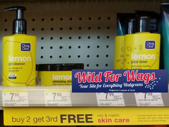 Clean & Clear lemon products