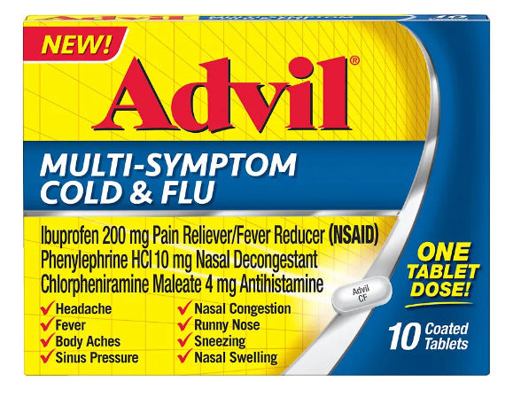 advil mulit symptom cold