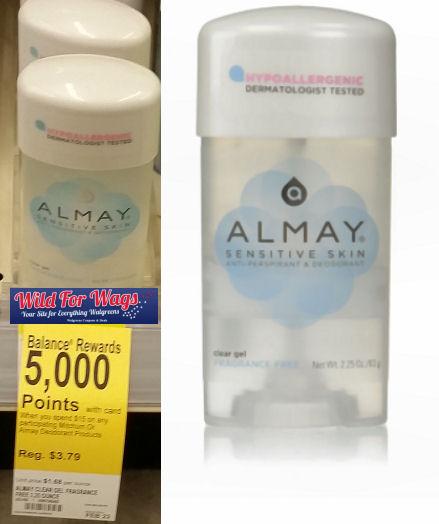 almay deodorant DEAL