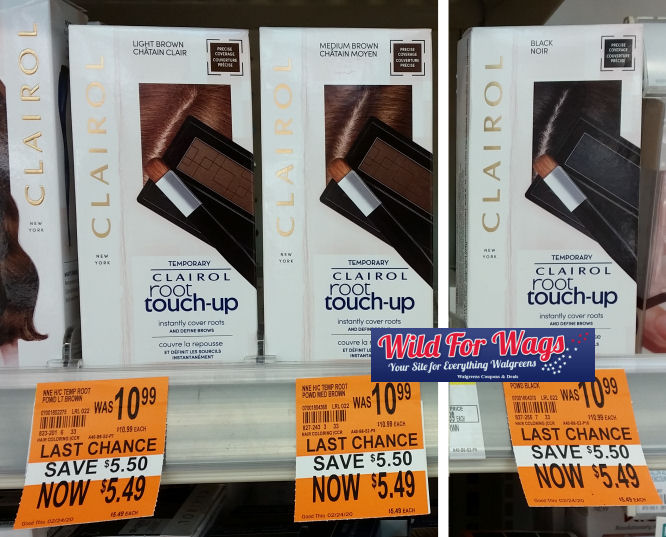 clairol clearance deal