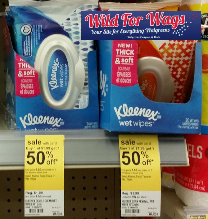 kleenex wipes deals