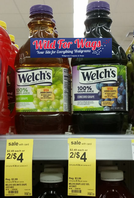 welch's deals
