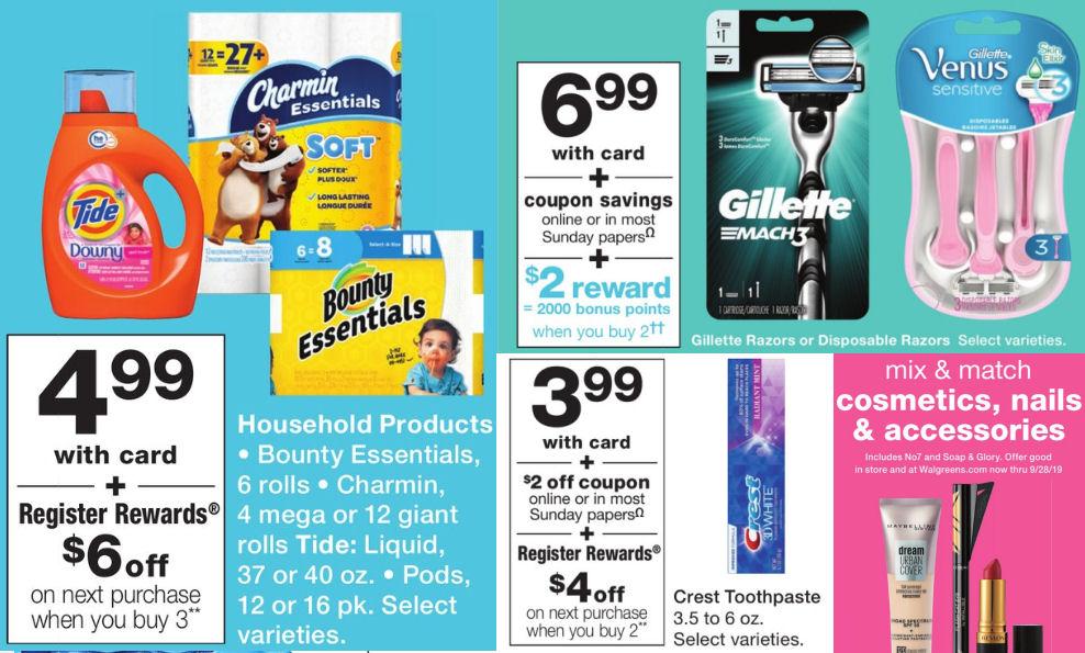 Walgreens Weekly Ad & Coupons 9/1