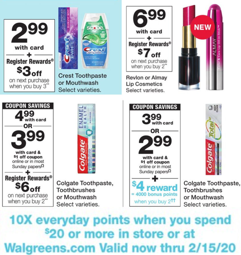 Walgreens Weekly Ad Coupons 2 2