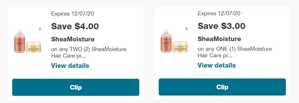 Walgreens Online Hurry Shea Moisture Masque Sachets As Low As 48 Each